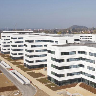 MontLégia, die neue Klinik in Lüttich