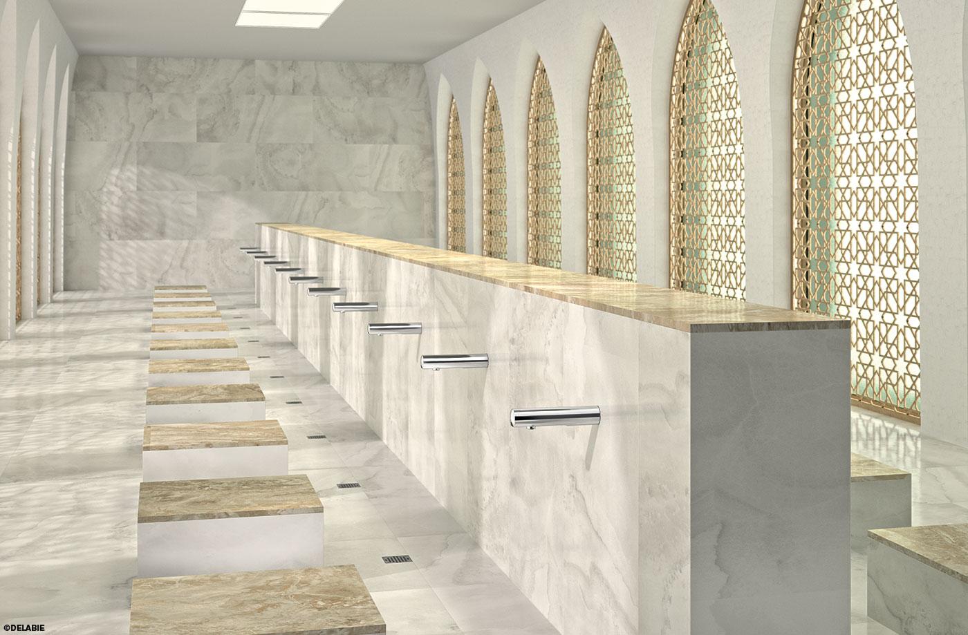 Waschraum Moschee