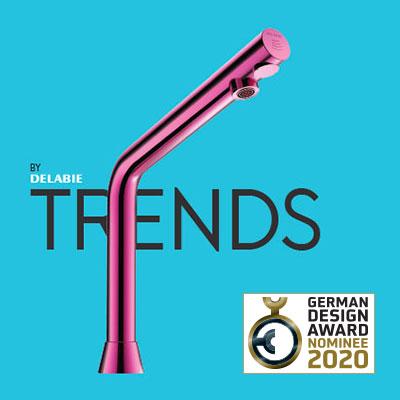 Magazin TRENDS BY DELABIE für German Design Award 2020 nominiert