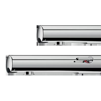 Elektronische Wandarmaturen TEMPOMATIC 4: Mischbatterien und Ventile für Waschtisch, die Design und Hygiene verbinden