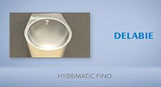 Urinal HYBRIMATIC FINO
