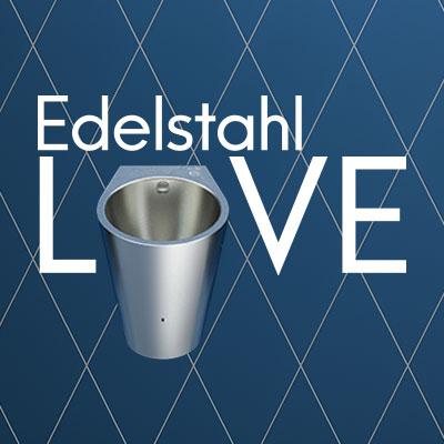 Edelstahl-Urinal mit Hybrid-Spülsystem HYBRIMATIC FINO: Preisträger zahlreicher Awards