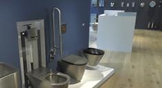 Die WC-Druckspülung DELABIE