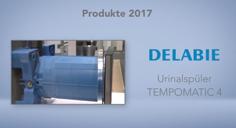 Produktneuheiten 2017 : Der TEMPOMATIC 4 Urinalspüler für Unterputzmontage