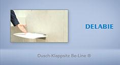Dusch-Klappsitz Be-Line