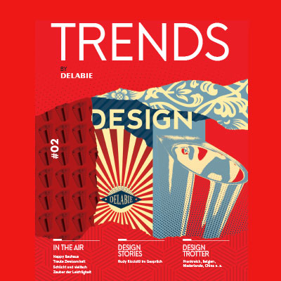 Trends by DELABIE - das Magazin für Gestaltungstrends im Sanitärbereich