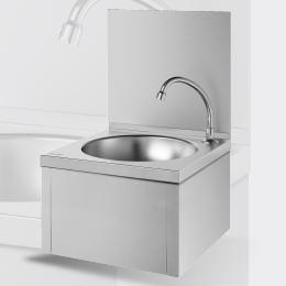 Mechanisches Handwaschbecken mit Kniebetätigung