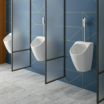Urinal Dienstleistungssektor