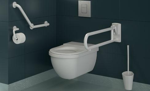 Wie kann eine barrierefreie Toilette eingerichtet werden?