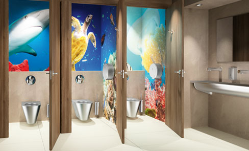 Braucht es spezifische Hygiene-Accessoires für den öffentlichen Sanitärraum?